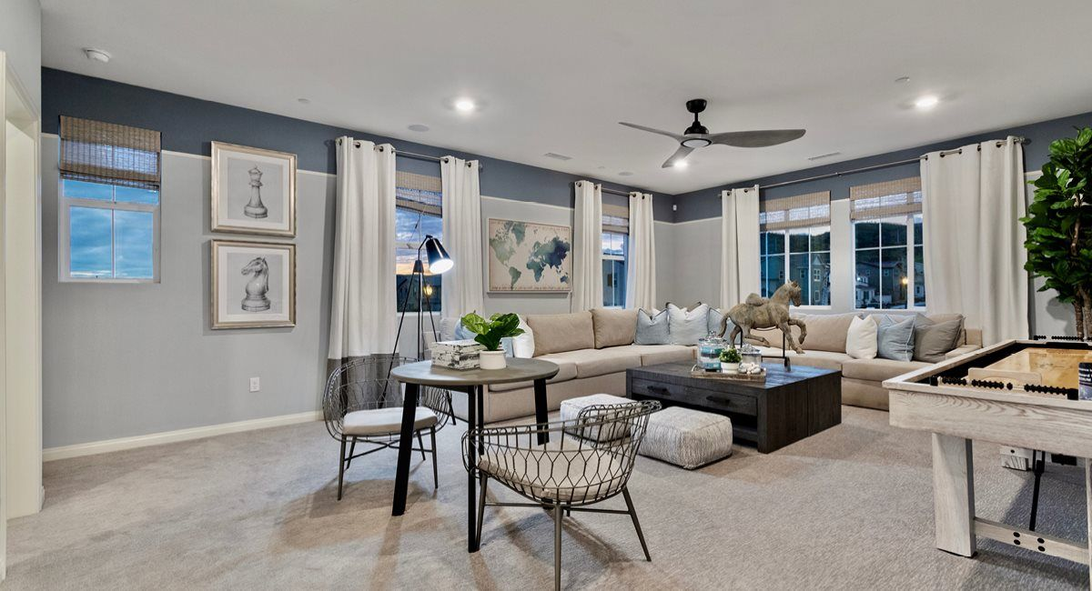 Living Area featured in the Residence 1 By Lennar in Ventura, CA