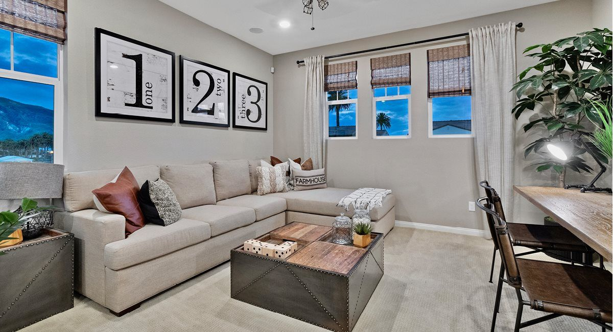 Living Area featured in the Residence 3 By Lennar in Ventura, CA