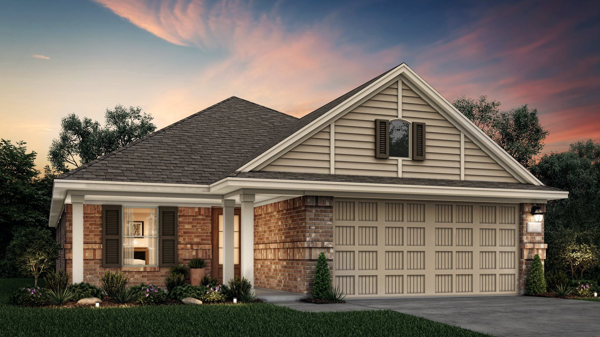 Exterior featured in the Dalton By Lennar in Houston, TX