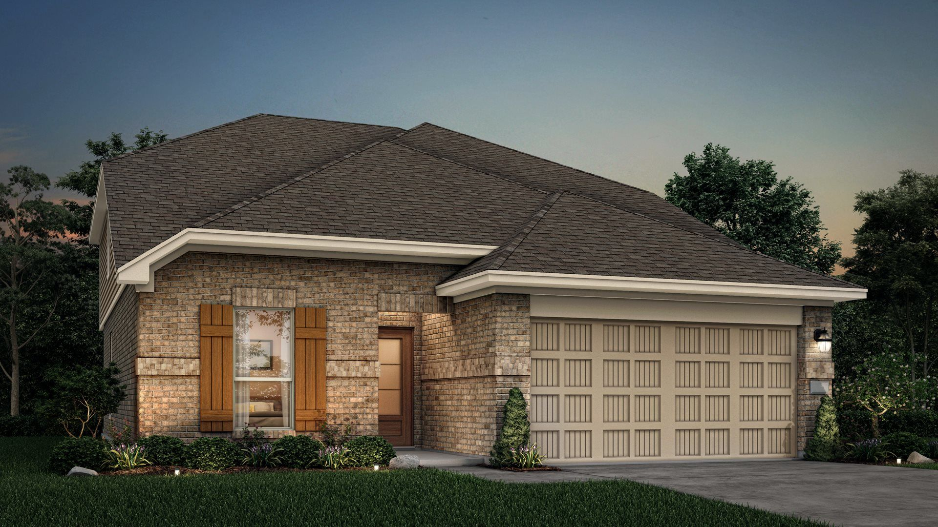 Exterior featured in the Franklin By Lennar in Houston, TX