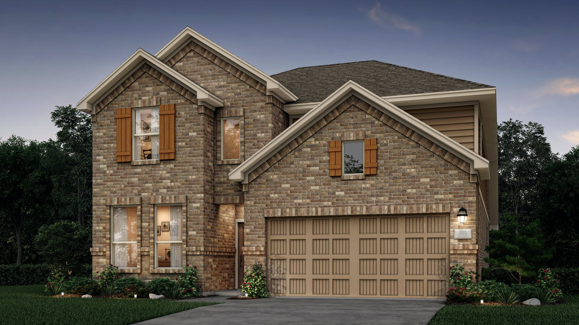 Exterior featured in the Coleman By Lennar in Houston, TX