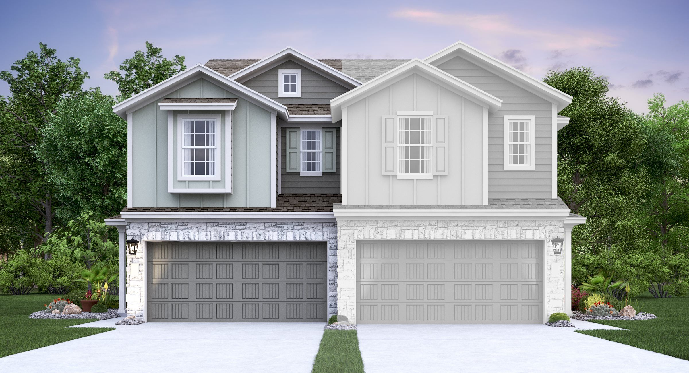 Exterior featured in the Dunwell By Lennar in Austin, TX