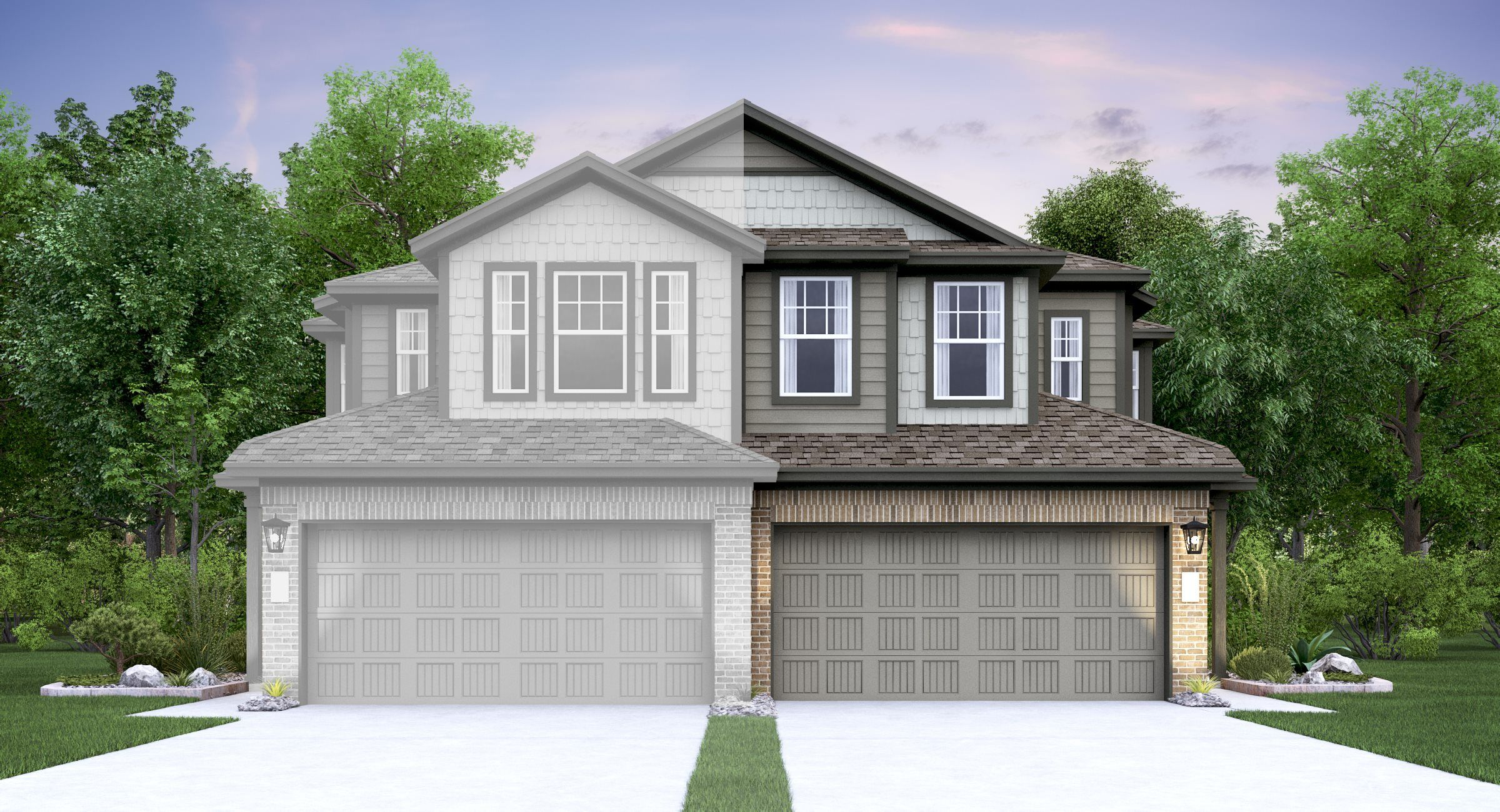 Exterior featured in the Lasalle By Lennar in Austin, TX