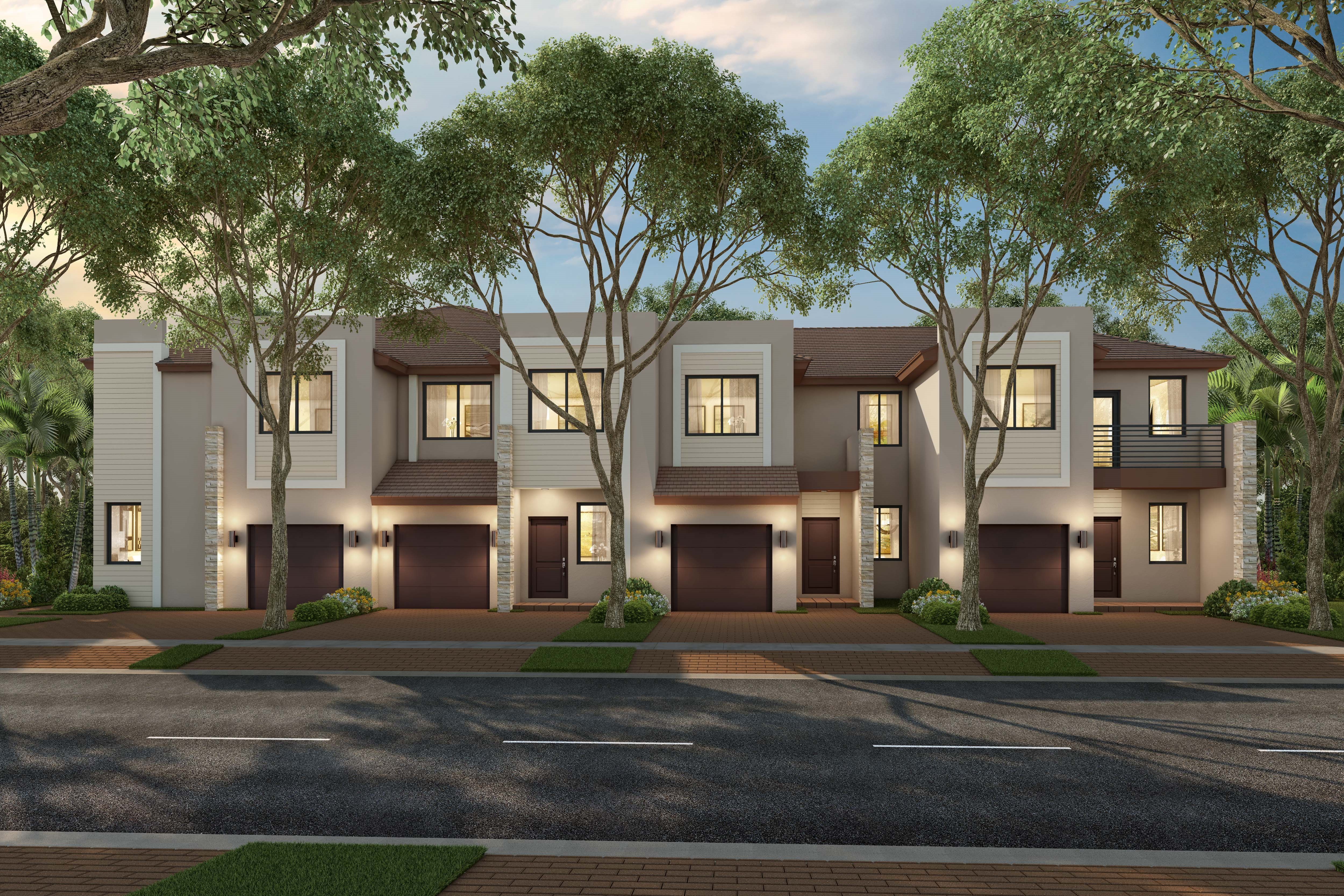 Exterior featured in the Merida By Lennar in Miami-Dade County, FL