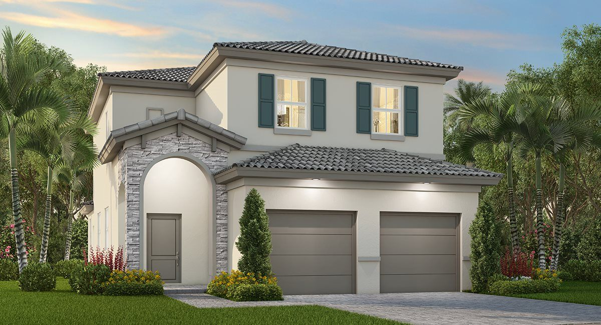 Exterior featured in the St. Tropez By Lennar in Miami-Dade County, FL