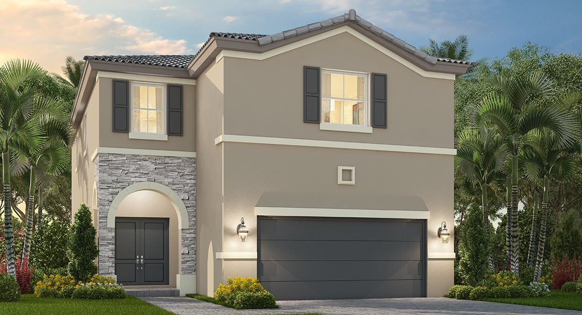 Exterior featured in the Paloma By Lennar in Miami-Dade County, FL