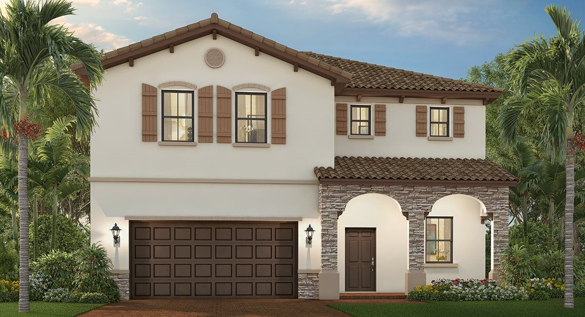 Exterior featured in the Carmel By Lennar in Miami-Dade County, FL