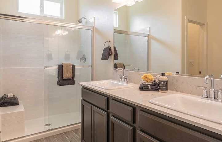 Bathroom featured in the Seaside By Lennar in Bakersfield, CA