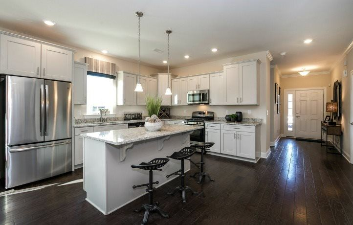 Kitchen featured in the Saratoga By Lennar in Ocean County, NJ