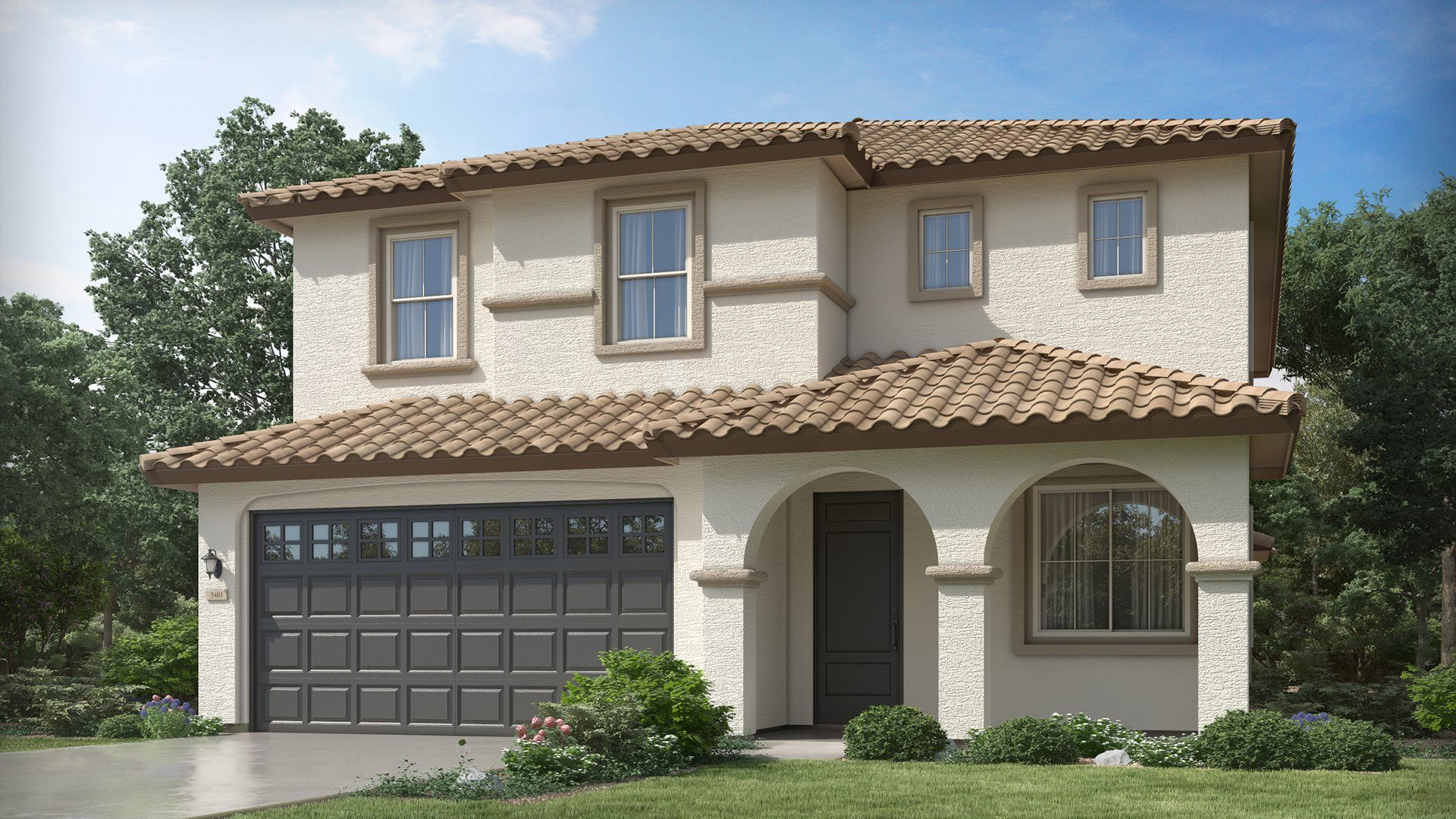 Exterior featured in the Columbus Plan 3563 By Lennar in Phoenix-Mesa, AZ