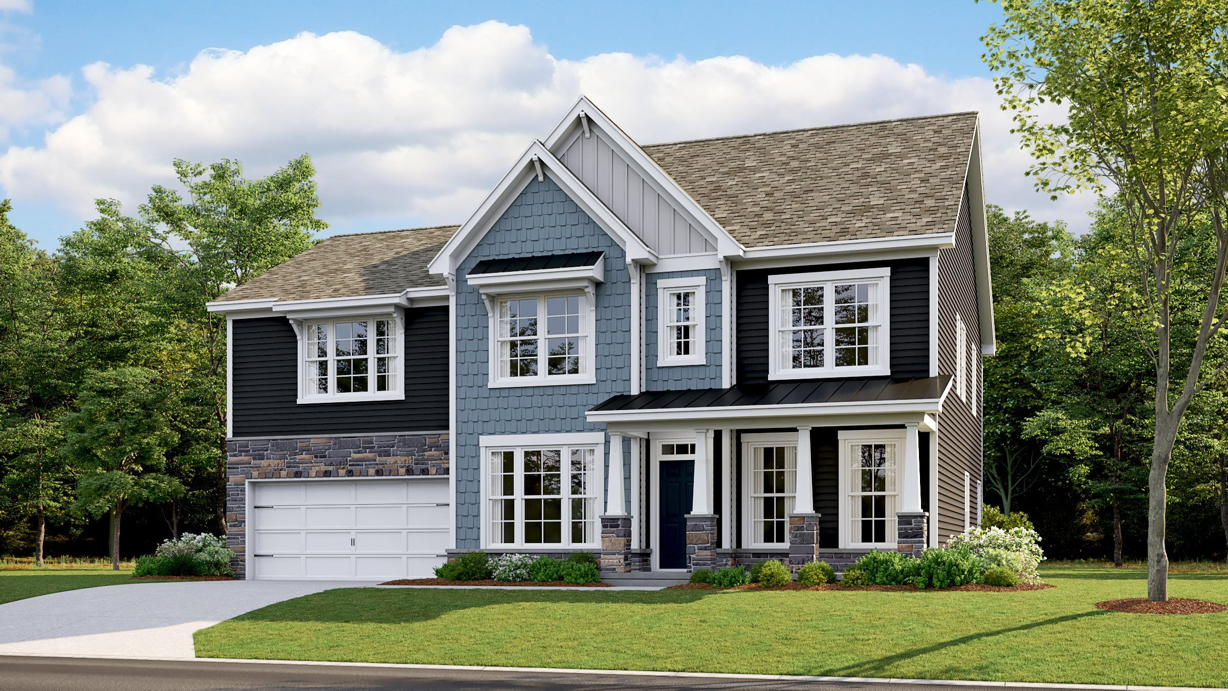 Exterior featured in the Ellery By Lennar in Charlotte, NC