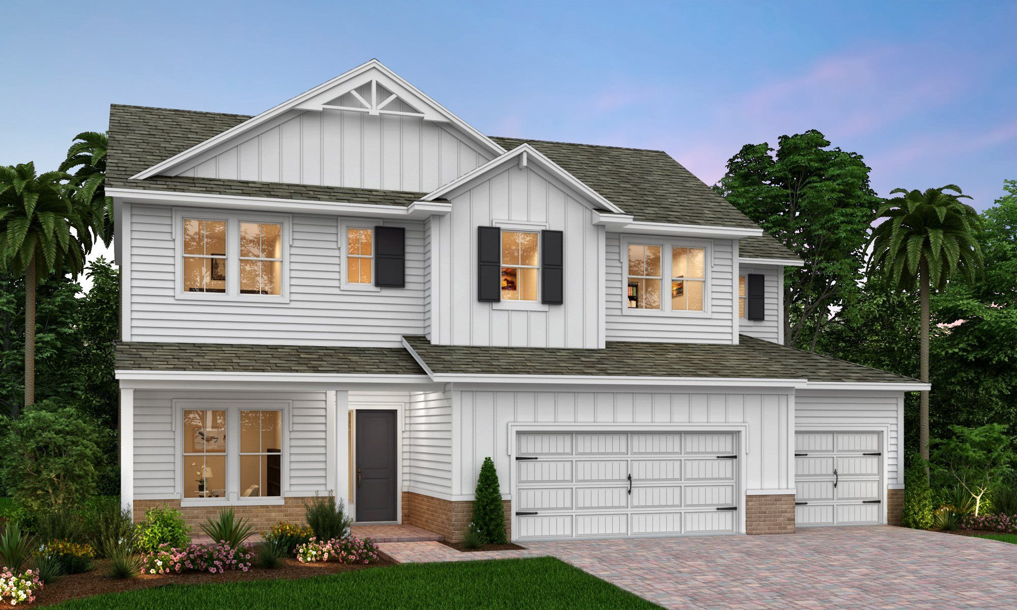Exterior featured in the CRAWFORD By Lennar in Jacksonville-St. Augustine, FL