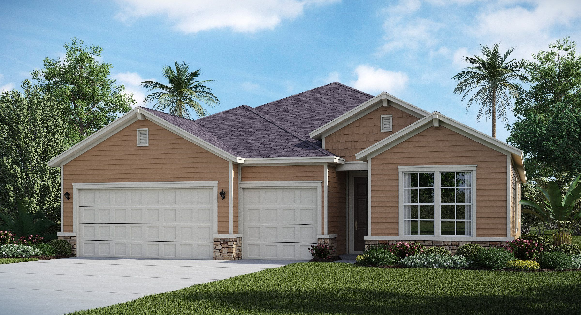 Exterior featured in the TIVOLI By Lennar in Jacksonville-St. Augustine, FL