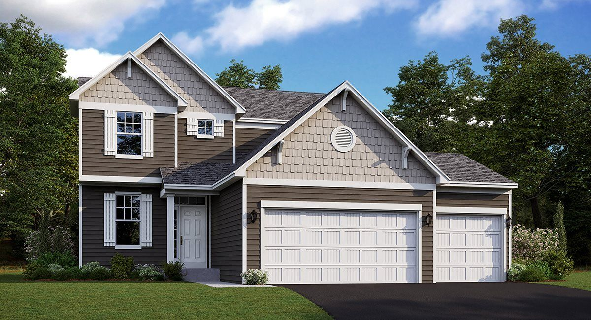 Exterior featured in the Bristol EI By Lennar in Minneapolis-St. Paul, MN