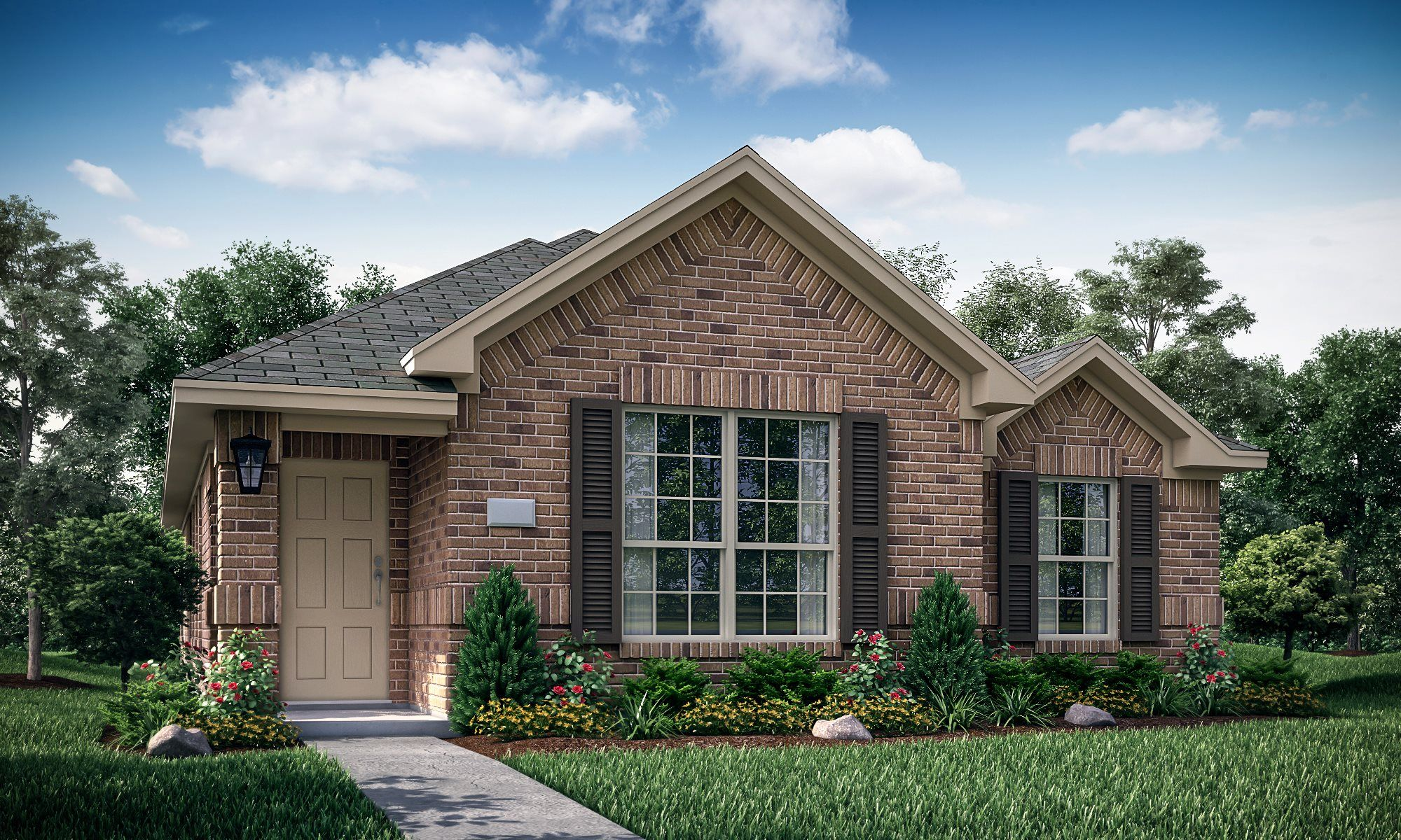 Exterior featured in the Ruby By Lennar in Dallas, TX