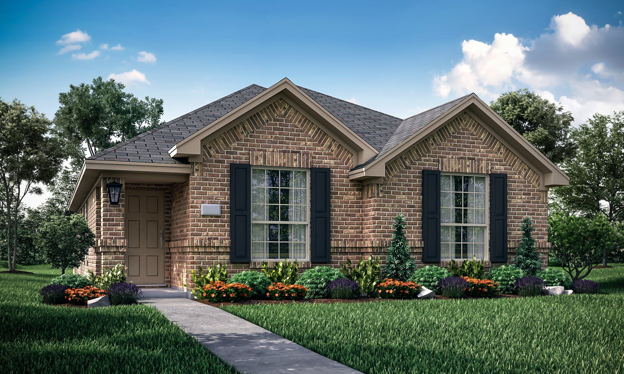 Exterior featured in the Amethyst By Lennar in Dallas, TX