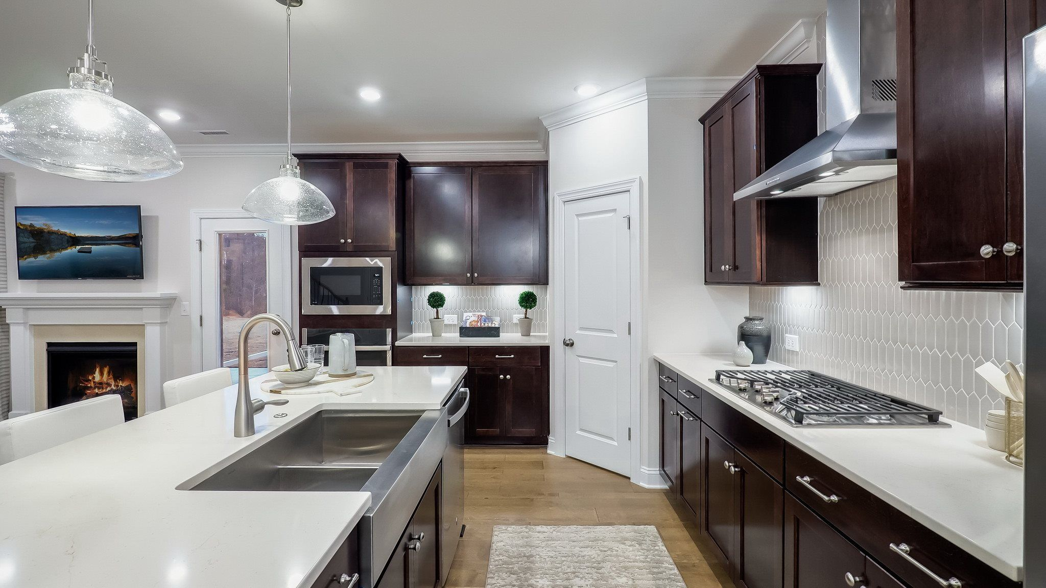 Kitchen featured in the Mayflower III By Lennar in Raleigh-Durham-Chapel Hill, NC