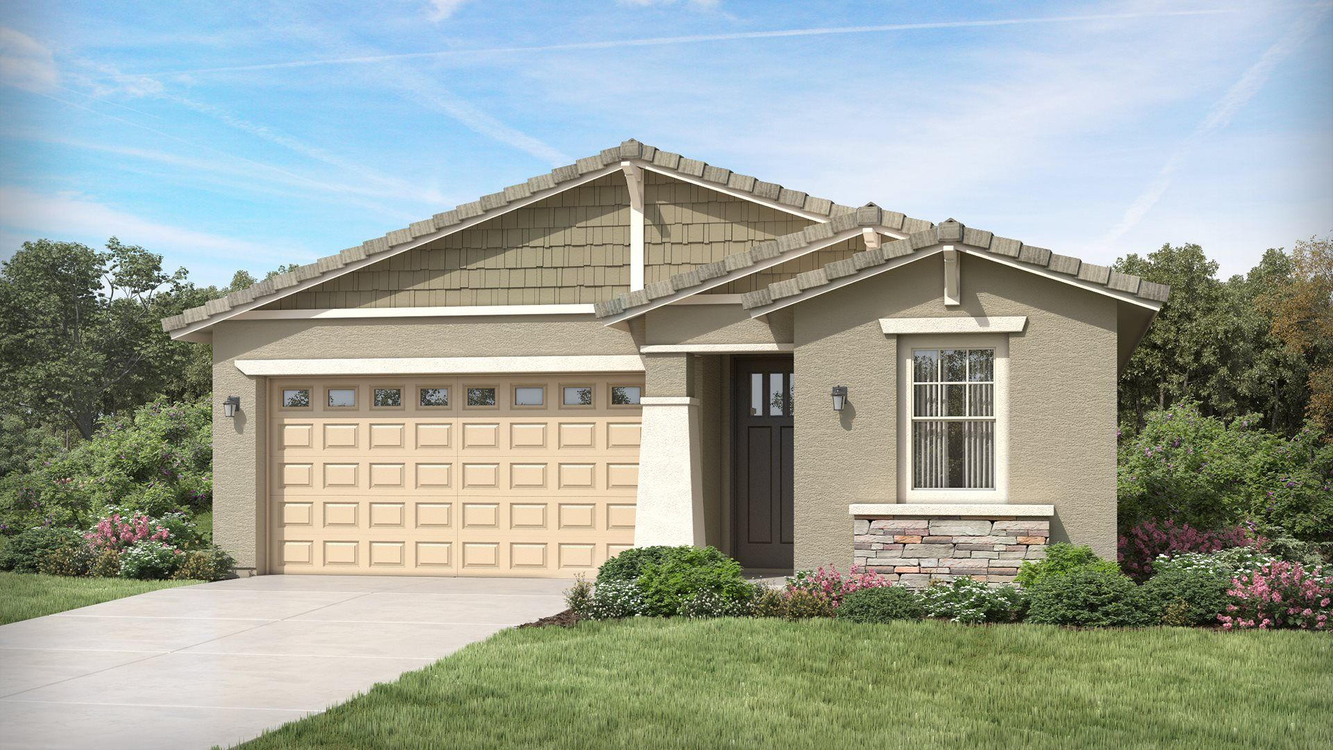 Exterior featured in the Ironwood Plan 3518 By Lennar in Phoenix-Mesa, AZ