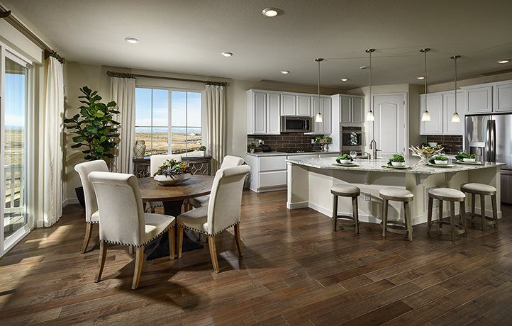 Kitchen featured in the Prescott By Lennar in Denver, CO