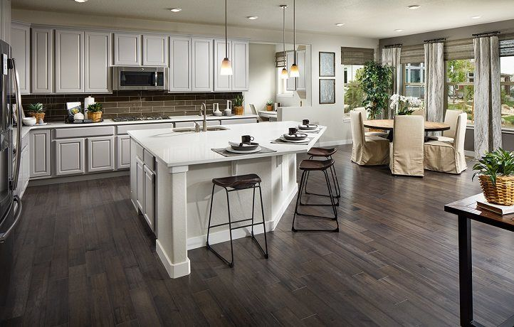 Kitchen featured in the Crestone By Lennar in Denver, CO