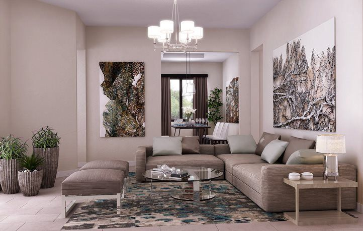 Living Area featured in the Angel By Lennar in Broward County-Ft. Lauderdale, FL
