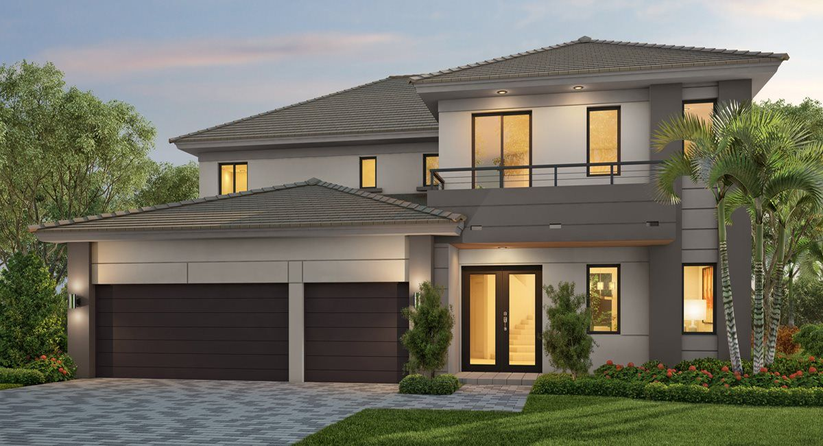 Exterior featured in the Florence By Lennar in Broward County-Ft. Lauderdale, FL