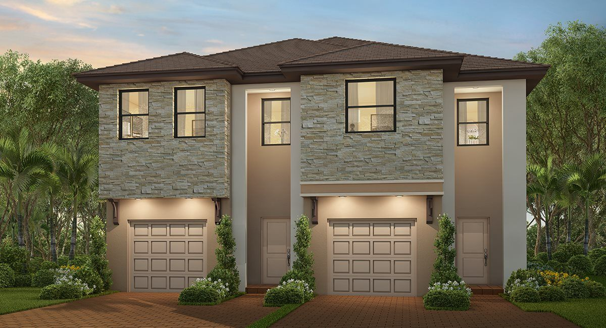 Exterior featured in the Perennial By Lennar in Miami-Dade County, FL