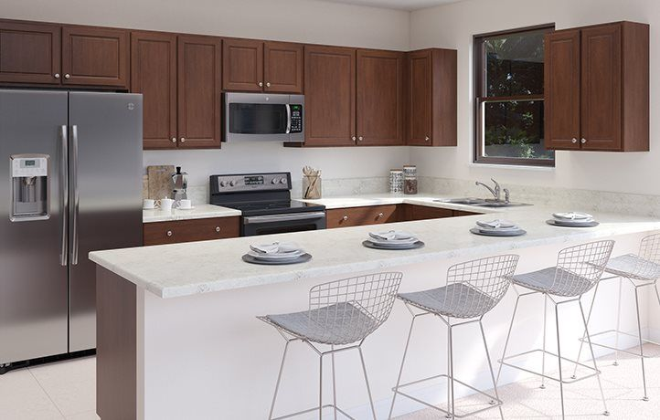 Kitchen featured in the Perennial By Lennar in Miami-Dade County, FL