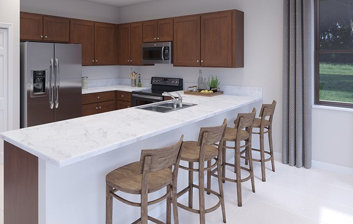 Kitchen featured in the Banyan By Lennar in Miami-Dade County, FL