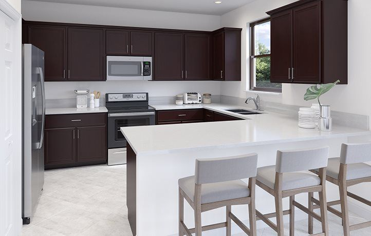 Kitchen featured in the Flora By Lennar in Miami-Dade County, FL