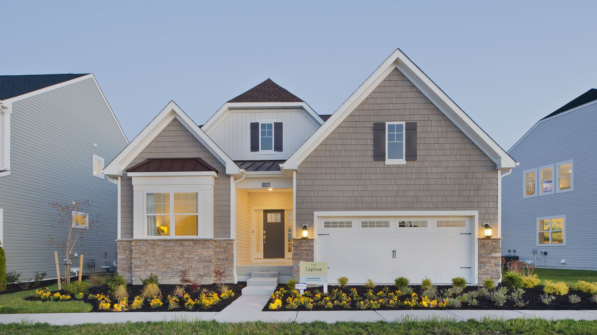 Exterior featured in the Canton By Lennar in Sussex, DE