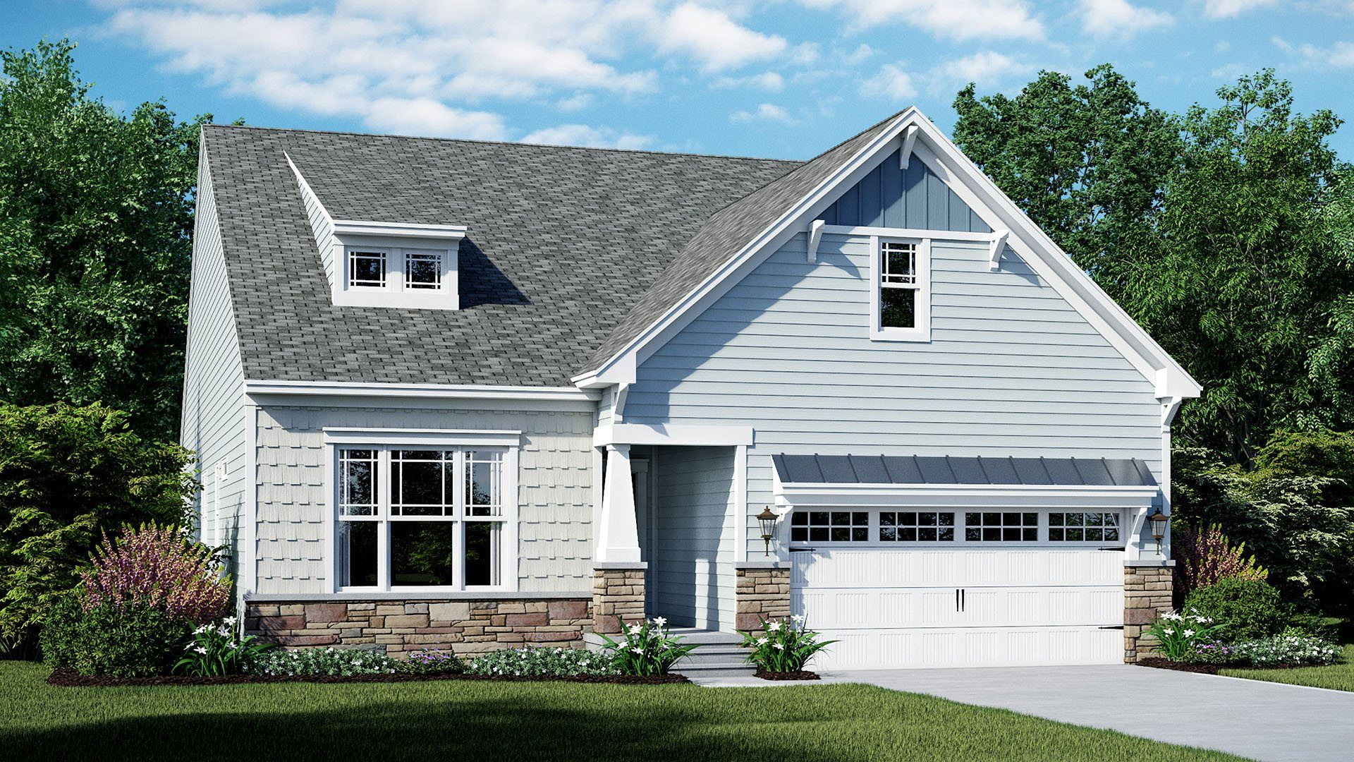 Exterior featured in the Dover By Lennar in Sussex, DE