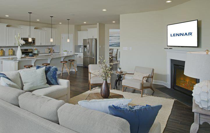 Living Area featured in the Dover By Lennar in Sussex, DE