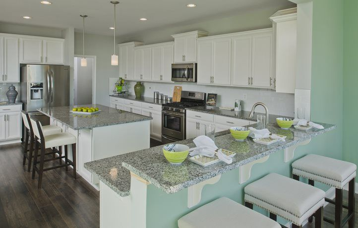 Kitchen featured in the Norwood By Lennar in Sussex, DE
