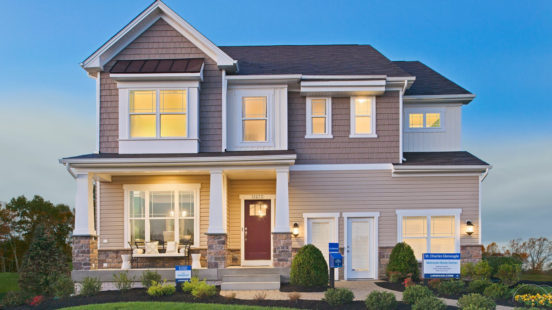 Exterior featured in the Norwood By Lennar in Baltimore, MD