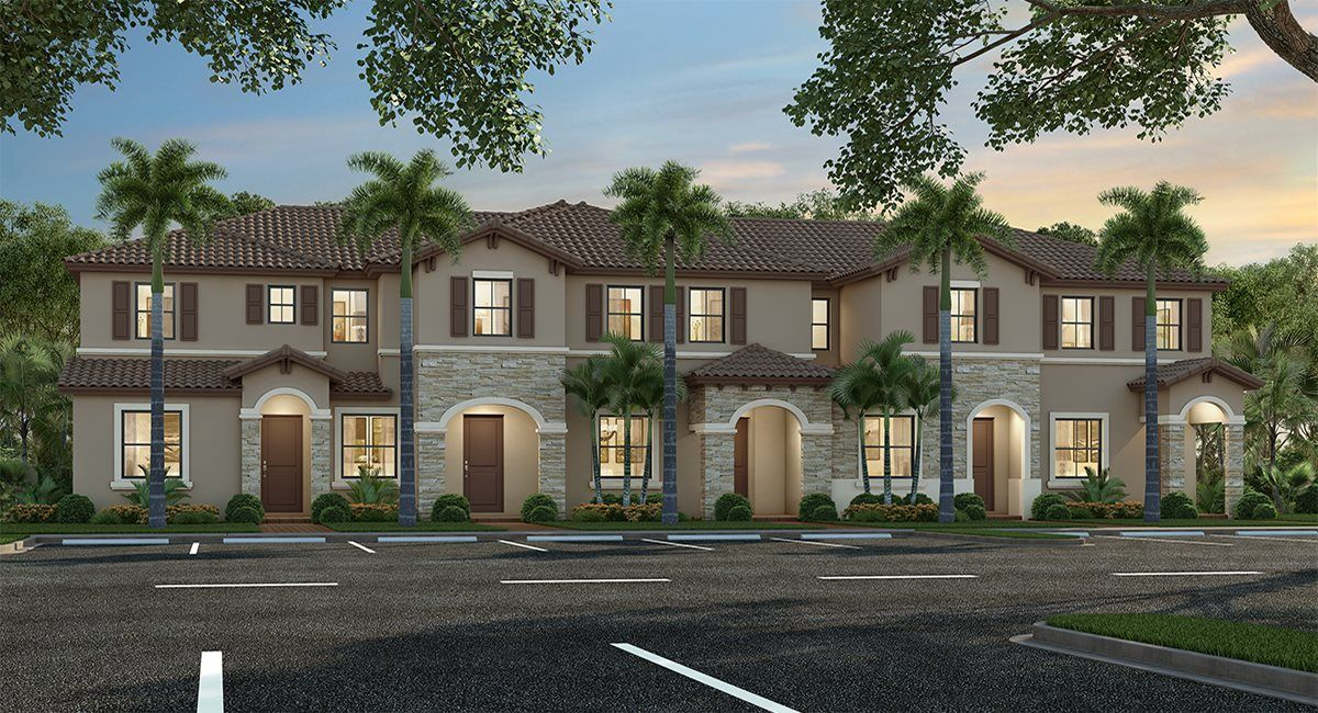 Exterior featured in the Parker By Lennar in Miami-Dade County, FL