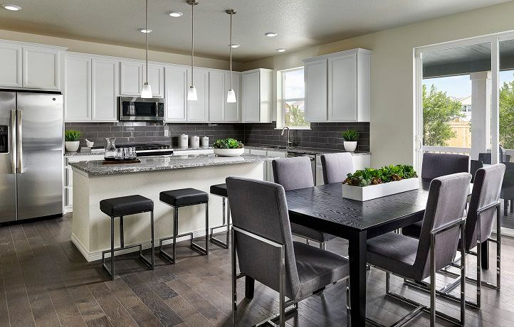 Kitchen featured in the Rockford By Lennar in Denver, CO