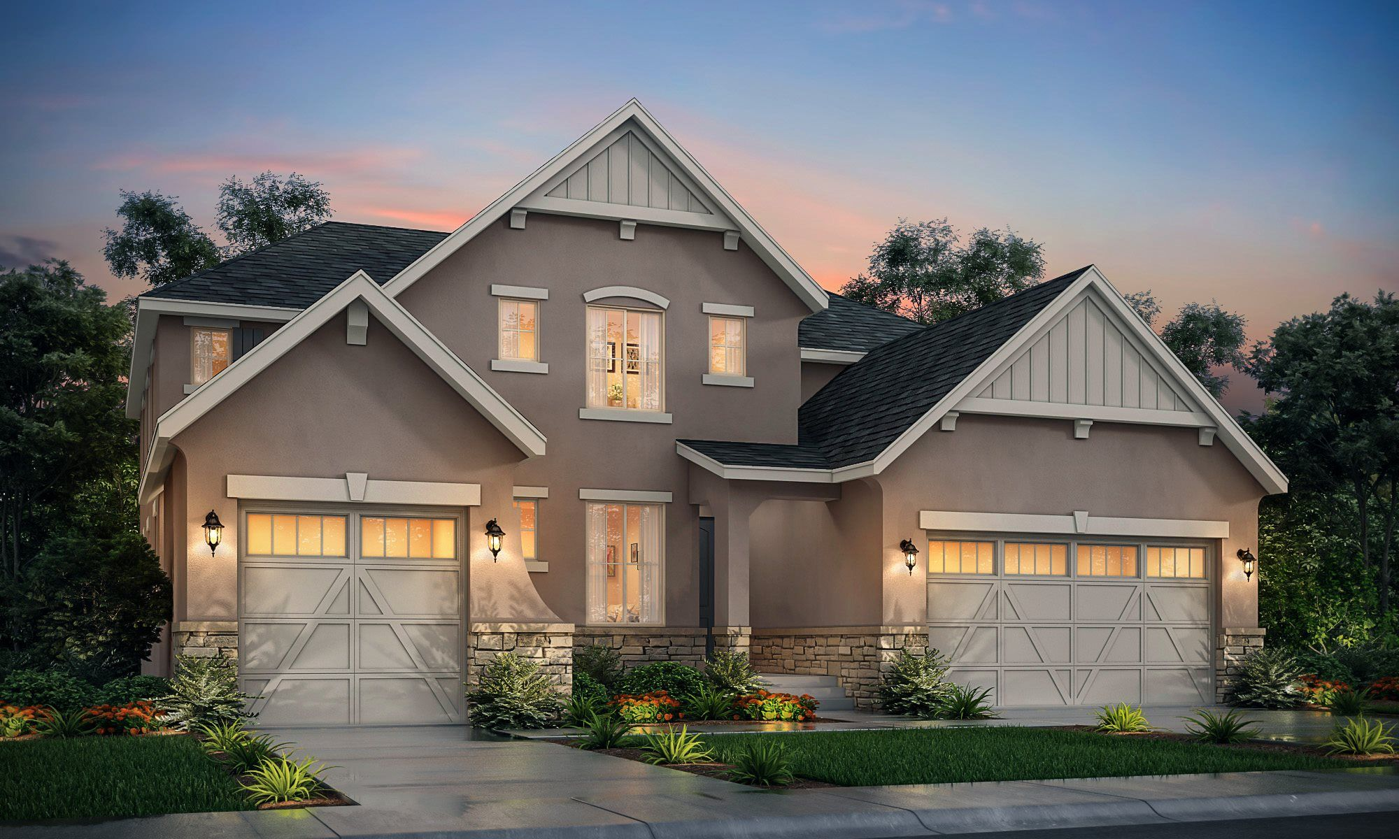 Exterior featured in the SuperHome By Lennar in Denver, CO