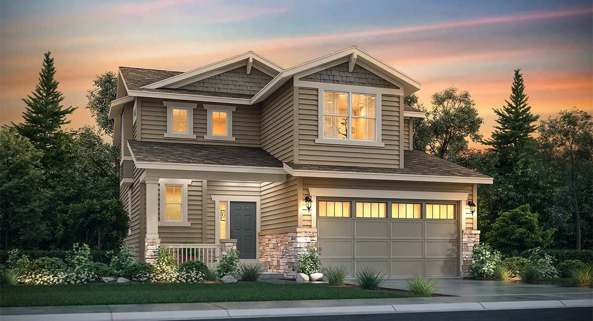 Exterior featured in the Evans By Lennar in Denver, CO