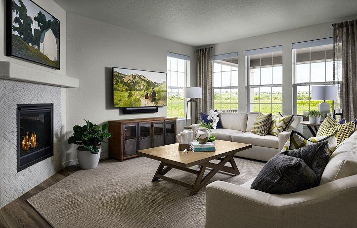 Living Area featured in the Graham By Lennar in Denver, CO