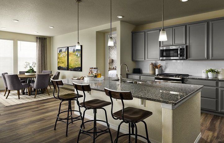 Kitchen featured in the Graham By Lennar in Denver, CO