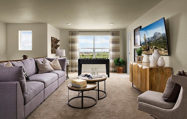Living Area featured in the Silverleaf By Lennar in Denver, CO
