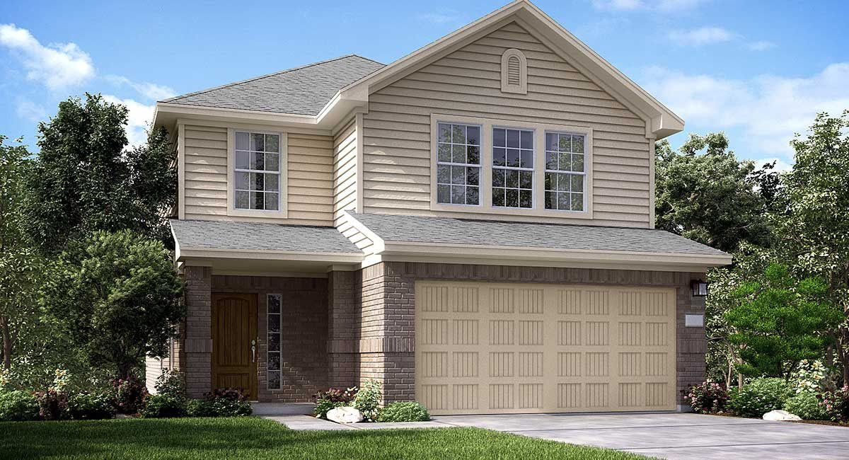 'Becker Meadows - Gulf Coast Collection' by Lennar - Houston in Houston