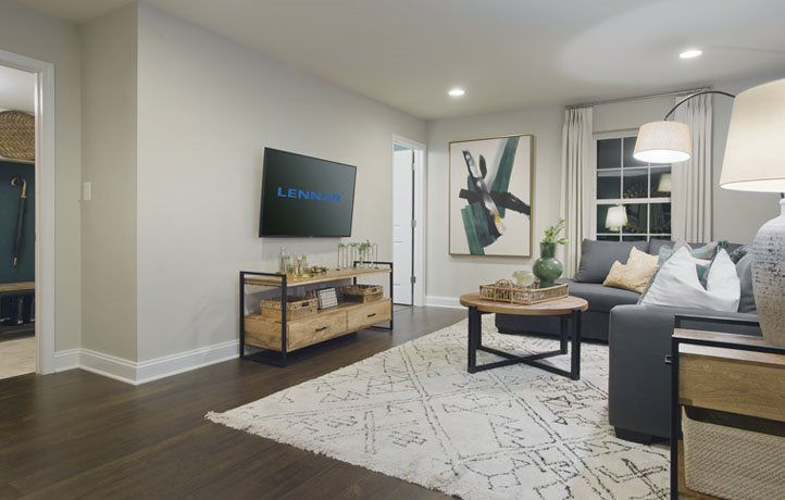 Living Area featured in the Ellicott Rear Load Garage By Lennar in Baltimore, MD