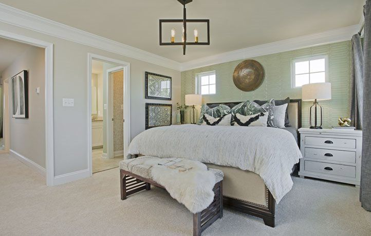 Bedroom featured in the Ellicott Rear Load Garage By Lennar in Baltimore, MD