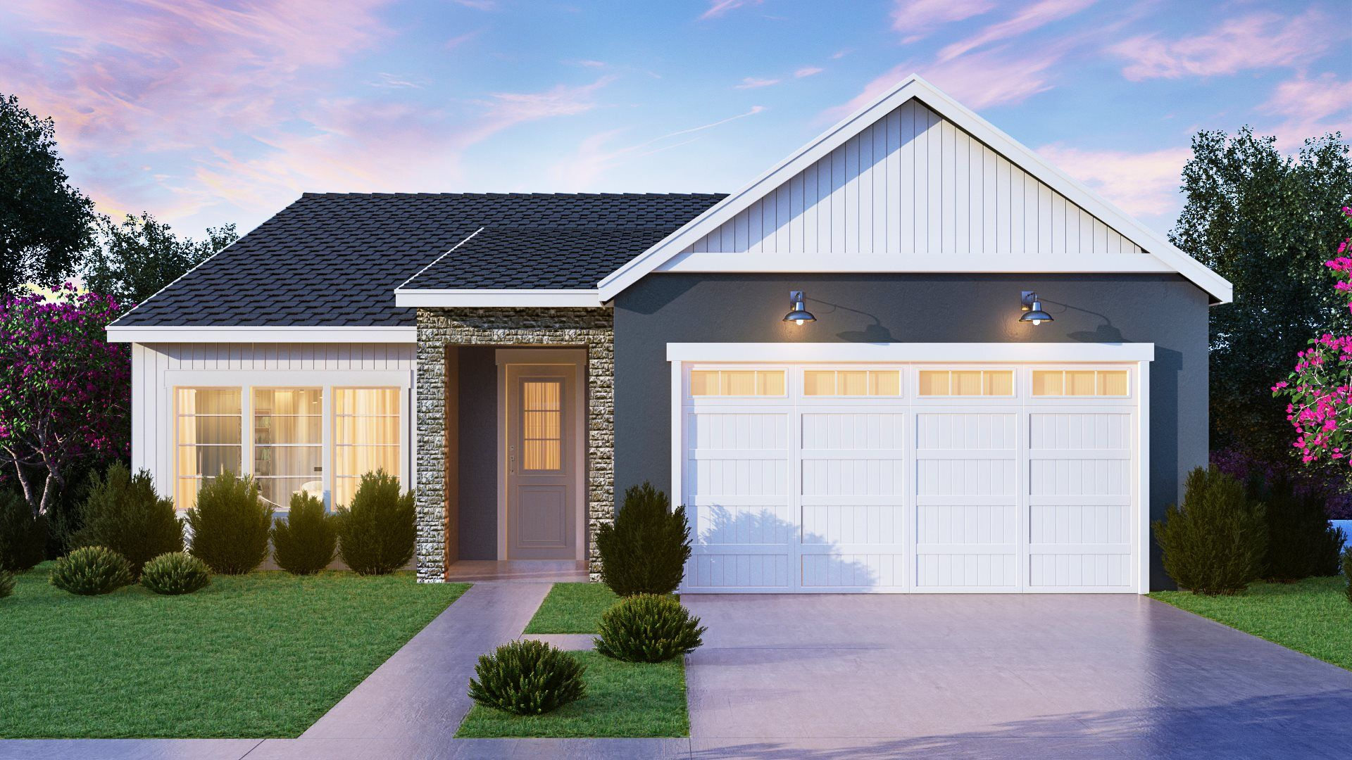 Exterior featured in the Cadence By Lennar in Fresno, CA