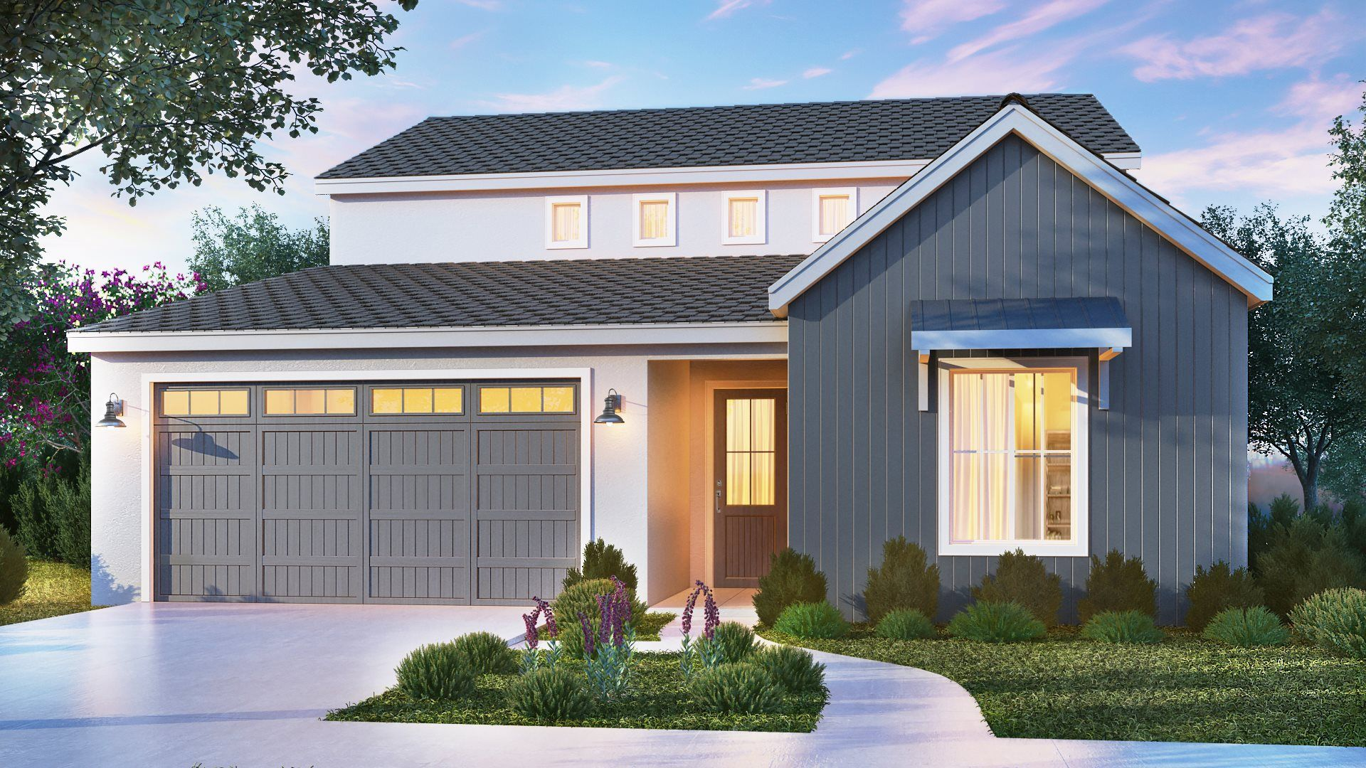 Exterior featured in the Rhapsody By Lennar in Fresno, CA
