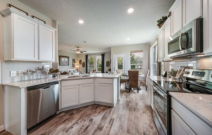Kitchen featured in the Terrazzo By Lennar in San Antonio, TX