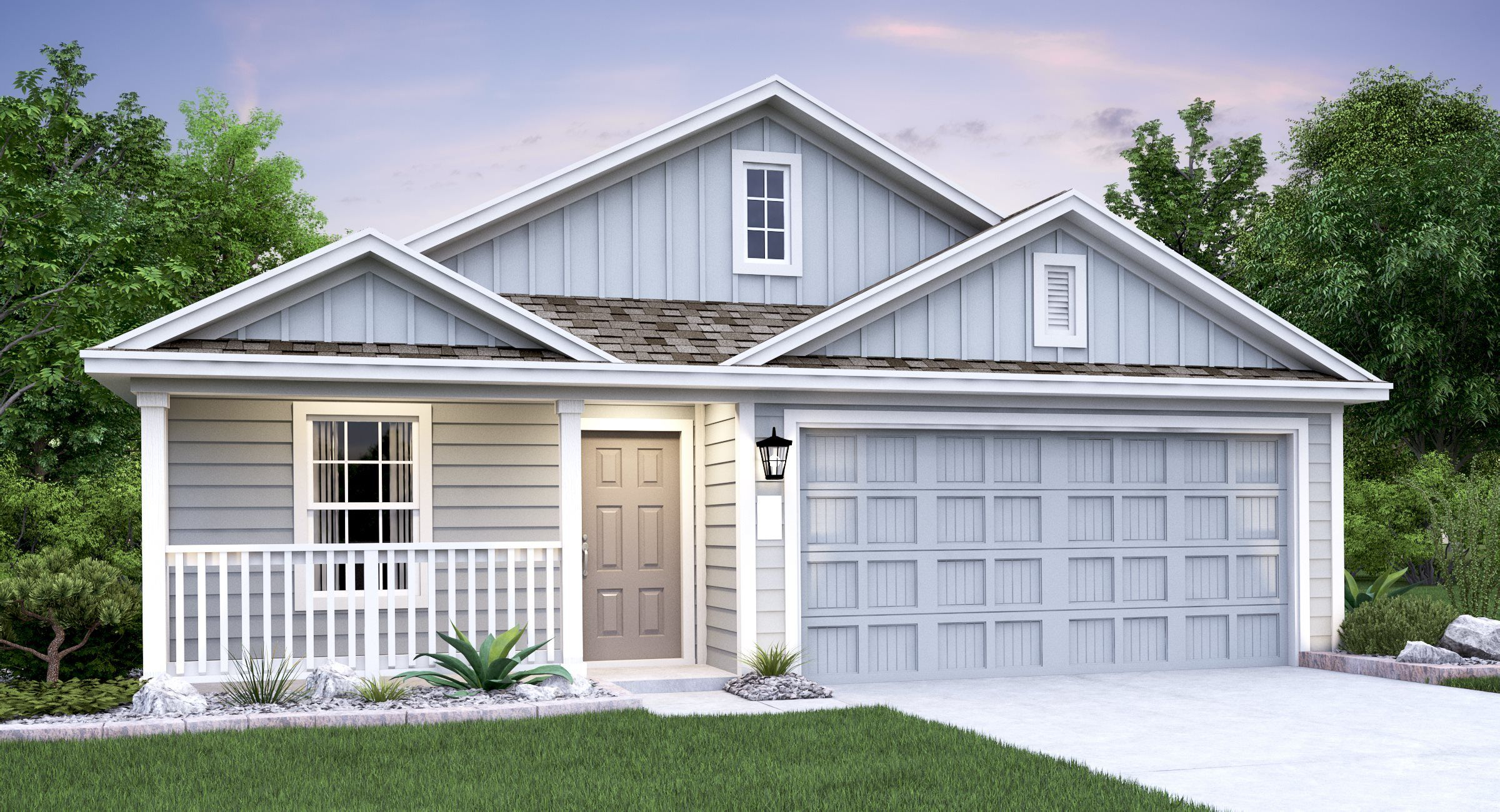 Exterior featured in the Nettleton By Lennar in San Antonio, TX