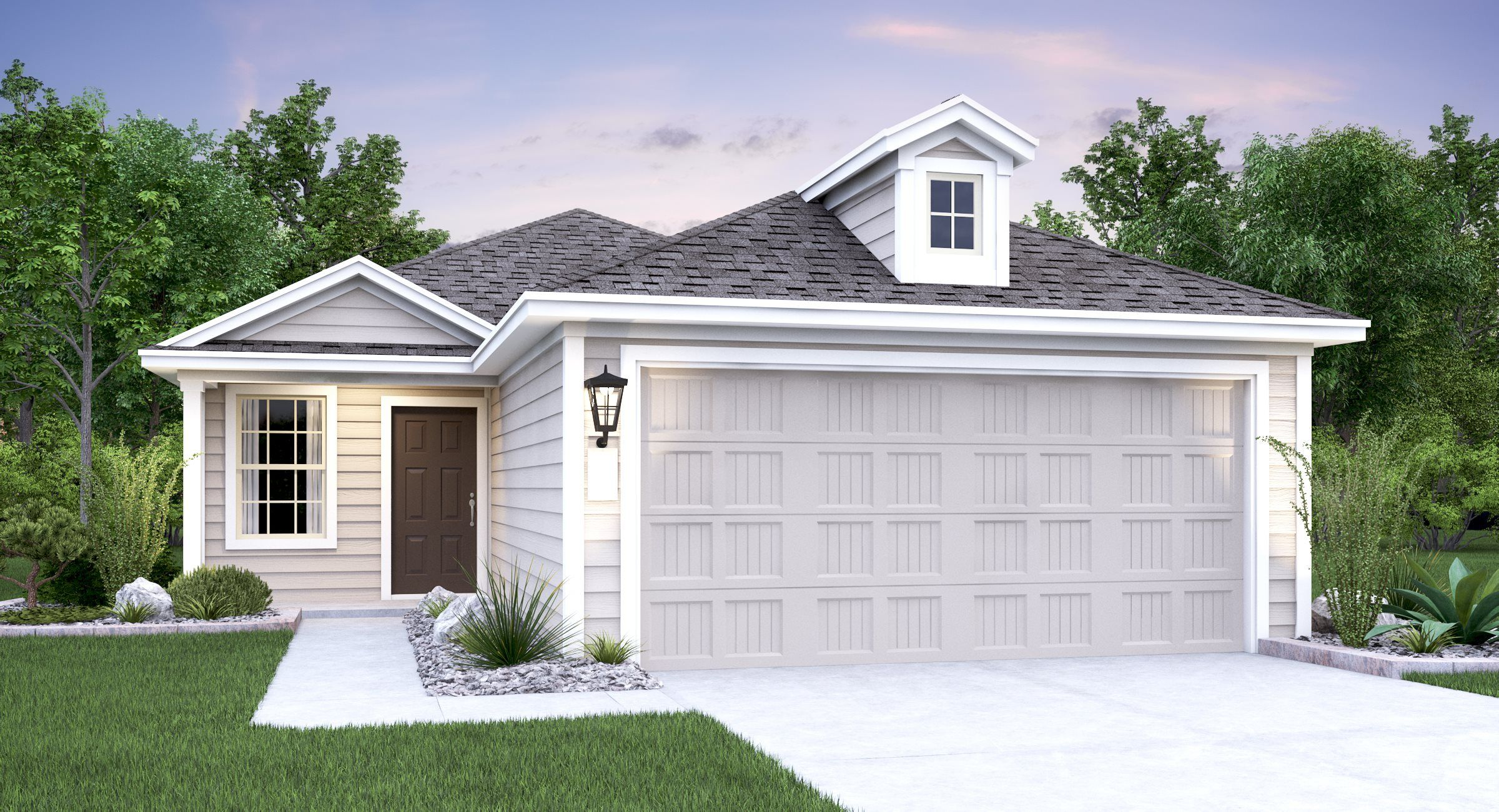 'Braun Landing - Cottage Collection' by Lennar - San Antonio Homebuilding in San Antonio